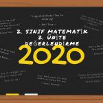 2. sınıf matematik 2. ünite değerkendirme